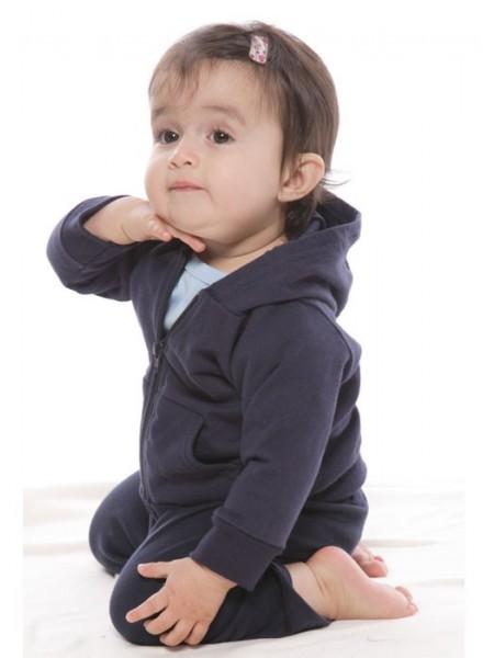 Infant Full Zip Hooded Sweatshirt