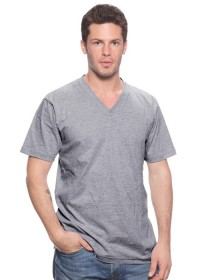 Unisex Triblend V-Neck