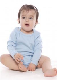 Organic Infant Long Sleeve One Piece