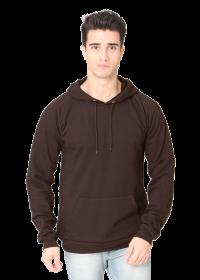 Unisex Organic-Hooded Pullover Sweatshirt