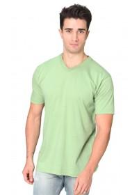 Organic Short Sleeve V-neck
