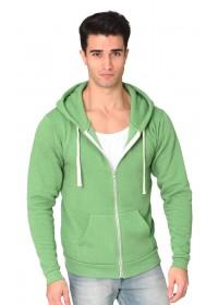 Unisex Organic RPET Fleece Zip Hoody