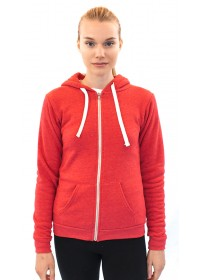Unisex ECO Triblend Fleece Full Zip Hoody