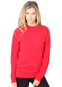 Unisex Fine Jersey Long Sleeve