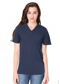 Unisex Short Sleeve V-Neck