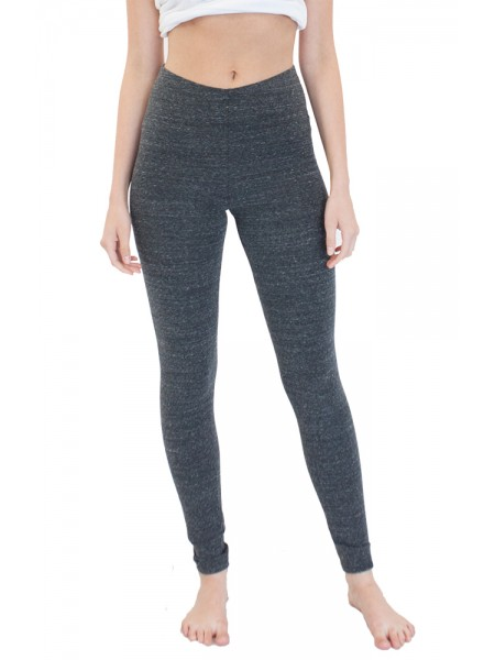 Eco Triblend Spandex Jersey Leggings