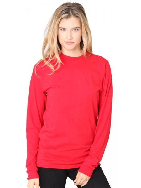 Unisex Fine Jersey Long Sleeve