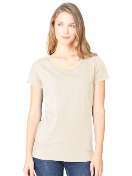 Women's Bamboo Organic Scoop Neck
