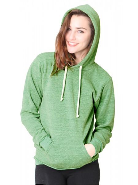 Unisex Organic RPET Fleece Pullover Hoody